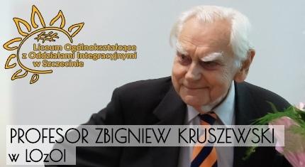 Spotkanie z profesorem Kruszewskim