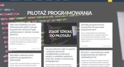 Wystartował portal programowanie.men.gov.pl
