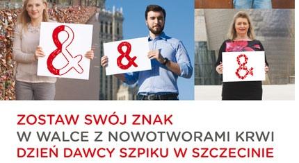 Dzień dawcy szpiku w Szczecinie