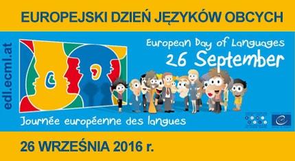 Europejski Dzień Języków - 26 września